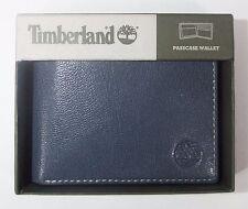 Timberland Men's LEATHER FINE BREAK PASSCASE Wallet Ink D84218-23