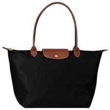 Longchamp New Le Pliage Nylon Tote Handbag Black Large L