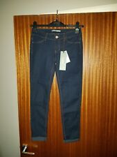 Pull and Bear jeans womens dark blue size 6 Capri fit