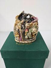 Disney Harmony Kingdom Wicked Ways Villains Maleficent Chernabog Figurine
