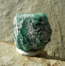 Emerald Crystal Raw Facet Rough Green Beryl Stone Unpolished Natural Brazil 4.1g