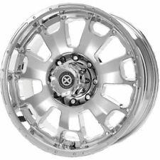 "Set of 17"" Chrome F250 Ford Super Duty Rims American Racing ATX Vice 6076 Wheels"