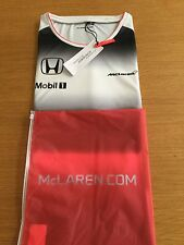 McLaren Honda Womens Ladies Official 2016 Team Set Up T Shirt Tee Top