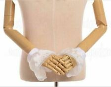 Victorian Hand Cuff Wrist Cuffs Fancy Costume Gothic Lolita Lace Wrist Cuff