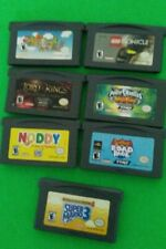 Gameboy Advance 7 Game Lot (GBA) Super Mario 3 Simpsons Road Rage Lego Bionicle
