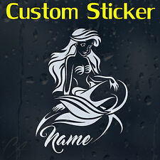 Kids Custom Decal Vinyl Sticker With Your Text Or Name For Car Window Or Bumper