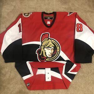 Koho Authentic Marian Hossa Ottawa Senators NHL Hockey Jersey Red Alternate 52