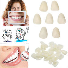 65pcs Fake Sental-Porcelain Whitening Veneers Resin Teeth Upper Anterior Shade