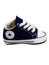 Converse Baby Kinder Schuhe CT All Star Cribster Mid Blau Leinen Größe 17 EU