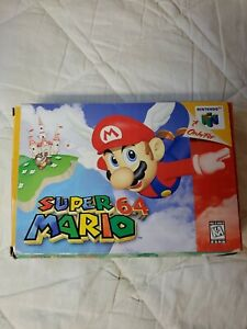 Super Mario 64 (Nintendo 64, 1996)  N64 BOX ONLY! Authentic! NO GAME