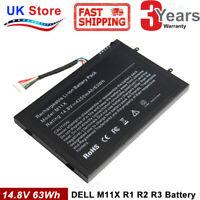 Battery For DELL Alienware M11x M14x R1 R2 R3  Laptop 8P6X6 P06T PT6V8 T7YJR