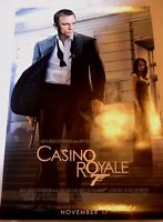 "Casino Royale Movie Poster James Bond 007 27.5"" x 40.5"" 2006"