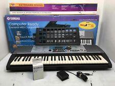 Yamaha Psr-225Gm 61 Key Electronic Piano Keyboard w/Ac Adapter