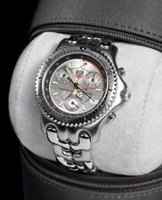 TAG Heuer Men's Silver Case Wristwatches