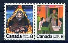 CANADA - 1976 - Scrittori canadesi: Germaine Guèvremont (1893-1968) e  Robert W.