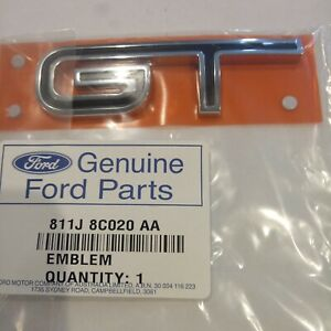 FPV FORD FG BLACK EDITION  GT GRILLE OR BOOT BADGE  RARE