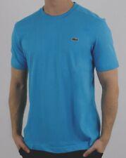 Lacoste man Crew neck Regular Fit 100% cotton size Small Sky Blue