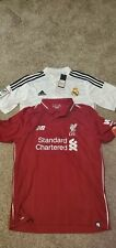 Liverpool And Real Madrid Home Jersey