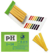 Mini 160 Strips 1-14 Full Range PH Paper Water Alkaline Acid Litmus Tester Paper
