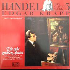HANDEL: EIGHT SUITES FOR HARPSICHORD  Edgar Krapp  German 2LP Eurodisc stereo