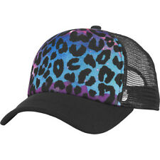 THE NORTH FACE YOUTH SNAPBACK PHOTOBOMB HAT BLACK LEOPARD GALAXY PRINT NWT
