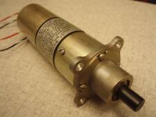 GEARED MOTOR 12VDC OR 24VDC  TORQUE 50 OZ-IN. 30-60 RPM