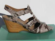 Clarks Popple Rumba Chaussures Femme 41,5 Sandales Escarpins Compensé UK7.5 Neuf