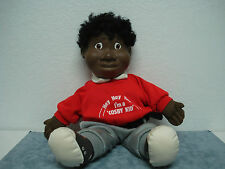 VINTAGE BILL COSBY KID DOLL SIGNED BY BILL COSBY COA