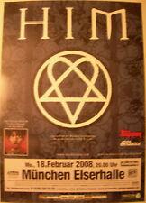 HIM CONCERT TOUR POSTER 2008 VENUS DOOM