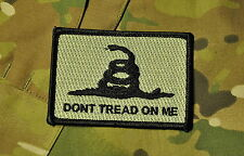 Subdued Gadsden Don't Tread On me Flag Patch
