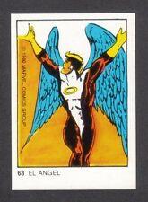 The Angel 1980 Marvel Comics Spanish Chocolate Card #63