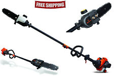 new Remington 10 ft Gas Pole Saw 8 in Chain Chainsaw Tree Trimmer Branch Pruner