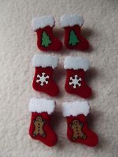Vestirla Botones ~ Navidad Collection ~ 6 Furry Medias ~ 3 Diseños ~