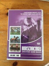 HORSERACING'S GREATEST EVER JUMPS RACES - DVD ( ARKLE, RED RUM, DAWN RUN, )
