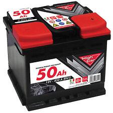 Batteria  Auto 50Ah High Car Fiato Punto e Fiat 500 Diesel/Benzina/Metano/Gpl