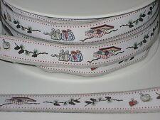 Acufactum webband, 1,6 cm di larghezza, band ornamentali, gioielli webband, Natale