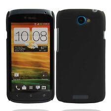 New Black Snap On Matte Hard Case back cover for HTC One S Z520e