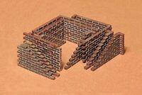 35028 Tamiya Brick Walls 1/35th Plastic Kit Assembly Kit 1/35 Military
