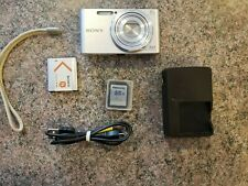 Sony Cybershot DSC-W830 20.1MP Digital SLR Camera - Silver
