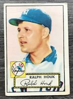 Ralph Houk 1952 Topps #200 RC Rookie Card New York Yankees