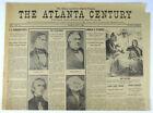 Vintage 1860 Atlanta Newspaper - Abraham Lincoln & Democrat Party