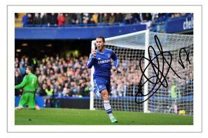 EDEN HAZARD Signed Autograph PHOTO Signature Gift Print CHELSEA Soccer
