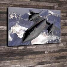 "Lockheed SR-71 Blackbird Printed Box Canvas A1.30""x20""-Deep 30mm Frame"