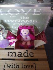 Doudou peluche coccinelle rose mauve boîte fleur Doudou et compagnie neuf
