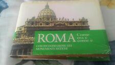 Roma come era e come è, CON RICOSTRUZIONE DEI MONUMENTI ANTICHI