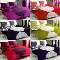 New Duvet Quilt Cover with Pillow Cases Print Bed Set All Sizes Manhattan Style