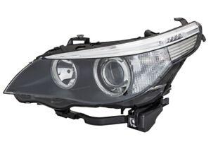 HELLA Hella Left Headlight BMW 1LL 160 695-001 fits BMW 5 Series E60 545i 525i 5