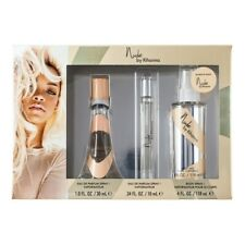 Nude by Rihanna Gift Set Parfum and Body Spray 3 Piece