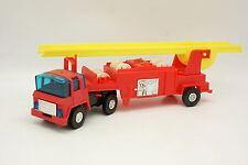 Divers Plastique Germany Stelco 33CM - Camion Pompiers Echelle Feuerwehr