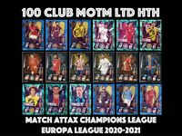 MATCH ATTAX 2020/21 CHOOSE YOUR 100 CLUB LIMITED EDITION MAN OF THE MATCH HTH